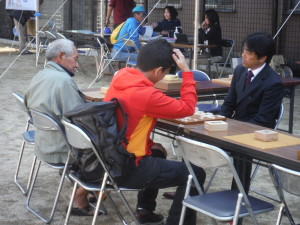 将棋対局コーナー