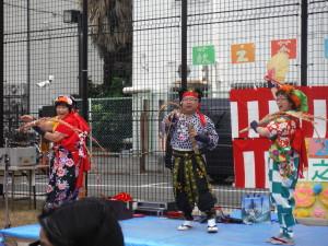 舞台パフォーマンス (大道芸)